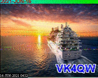 Click on image to enlarge. Latest Received Picture VK2QQ